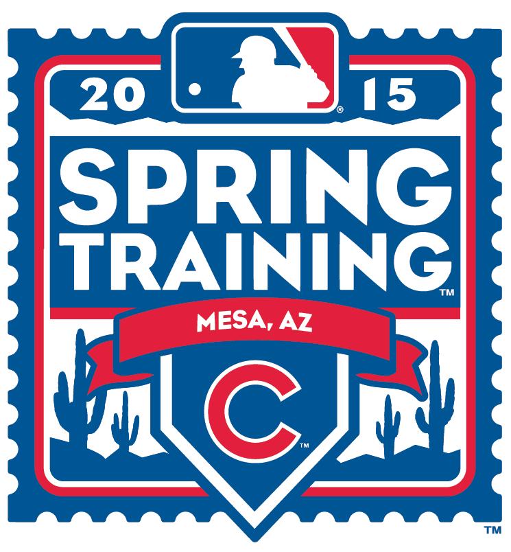 Chicago Cubs Logo Event Logo (2015) - 2015 Chicago Cubs Spring Training Logo SportsLogos.Net