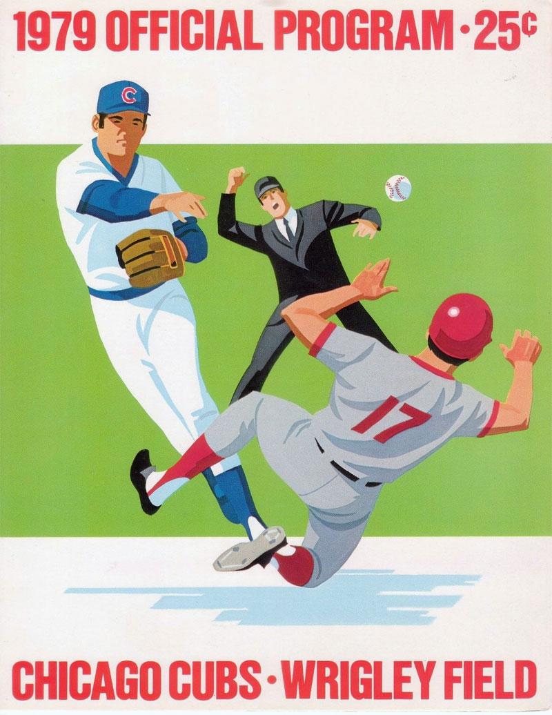 Chicago Cubs Program Program (1979) -  SportsLogos.Net
