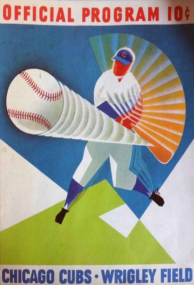 Chicago Cubs Program Program (1960) -  SportsLogos.Net