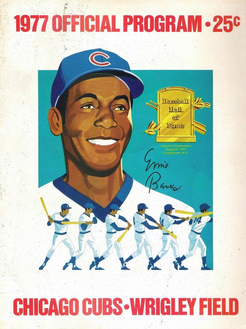 Chicago Cubs Program Program (1977) -  SportsLogos.Net