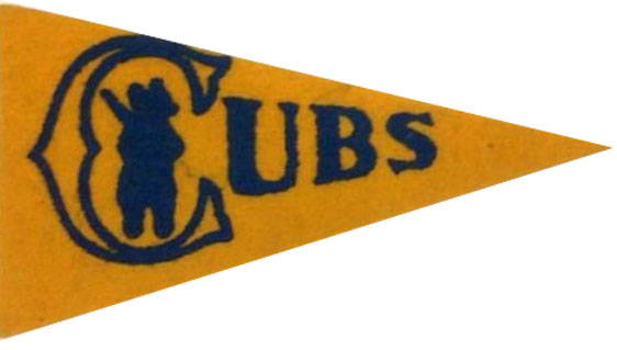 Chicago Cubs Pennant Pennant (1934) -  SportsLogos.Net