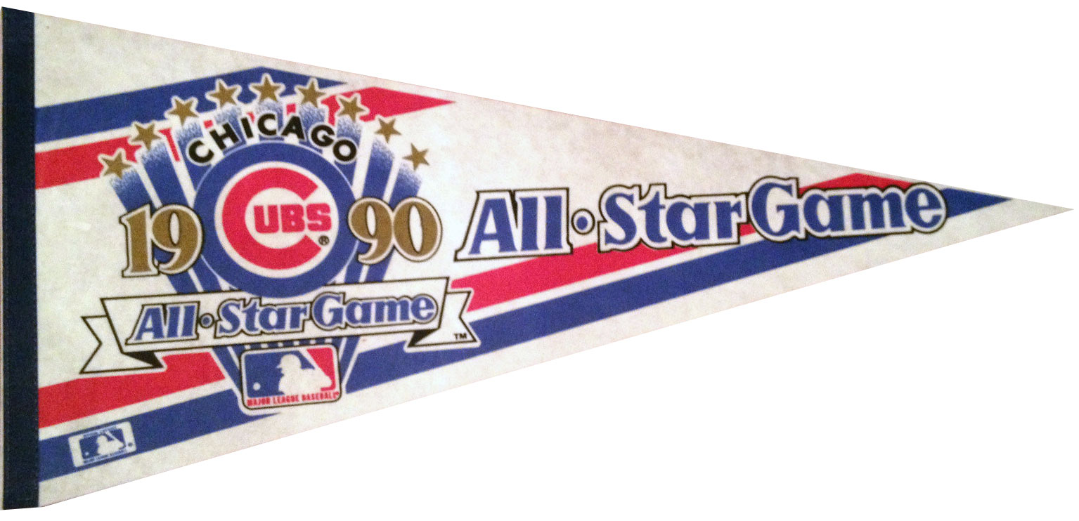 Chicago Cubs Pennant Pennant (1990) -  SportsLogos.Net