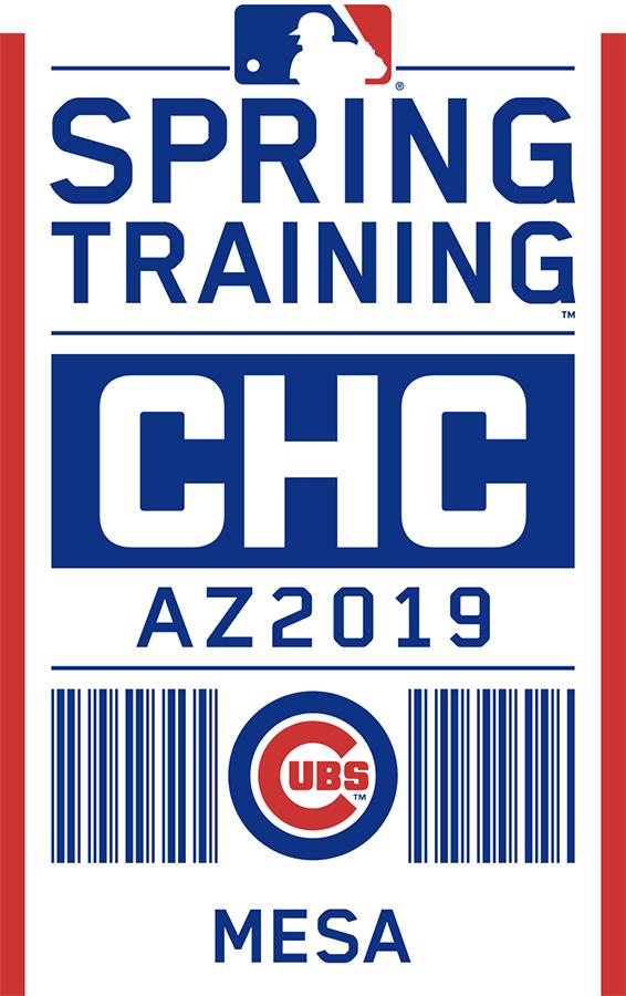 Chicago Cubs Logo Event Logo (2019) - Chicago Cubs 2019 Spring Training Logo SportsLogos.Net