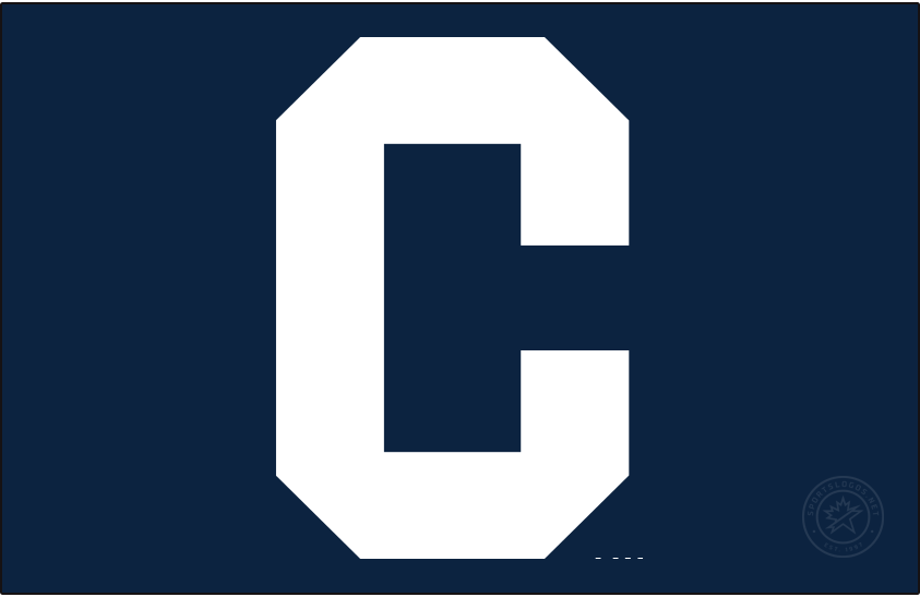 Chicago Cubs Logo Cap Logo (1926) - A block white C on navy blue. Worn on Chicago Cubs home and road caps during 1926 season SportsLogos.Net