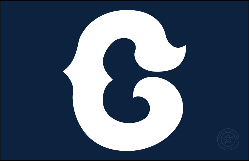 Chicago Cubs Logo Cap Logo (1931-1933) - A white C on navy blue, worn as Chicago Cubs alternate home cap from 1931 through 1933 SportsLogos.Net