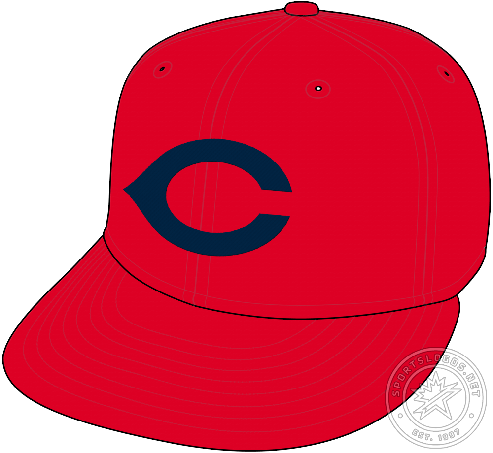 Chicago Cubs Cap Cap (1931-1932) - The Chicago Cubs wore a red cap with a navy blue wishbone-style C on the front as their road alternate cap in the 1931 and 1932 seasons. SportsLogos.Net