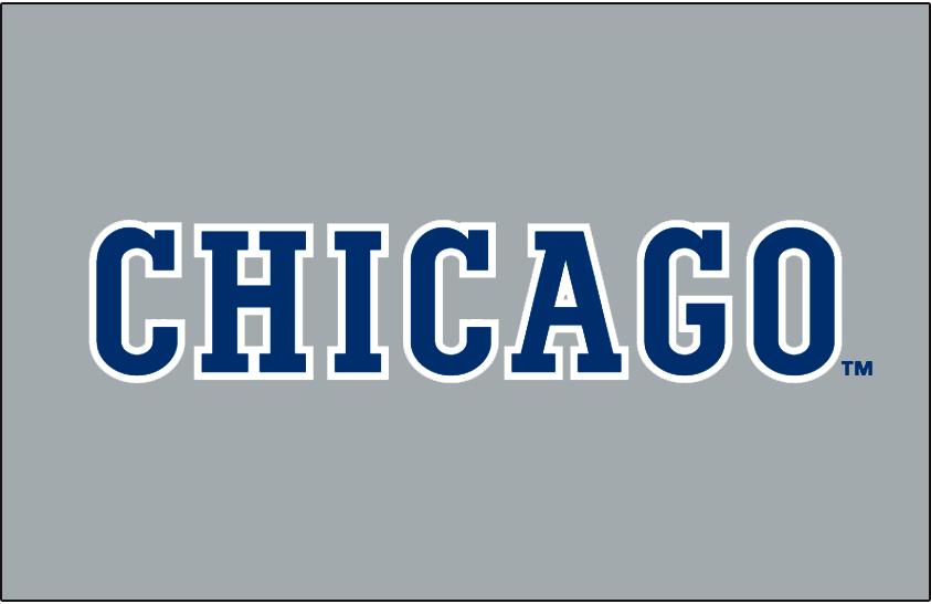 Chicago Cubs Logo Jersey Logo (1991-1993) -