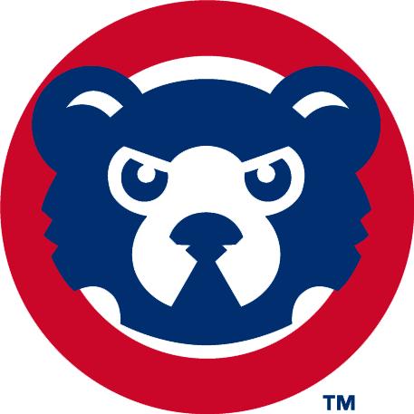 Chicago Cubs Logo Alternate Logo (1994-1996) - Cub head in a red circle SportsLogos.Net