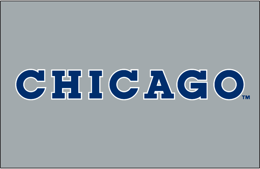 Chicago Cubs Logo Jersey Logo (1990) -