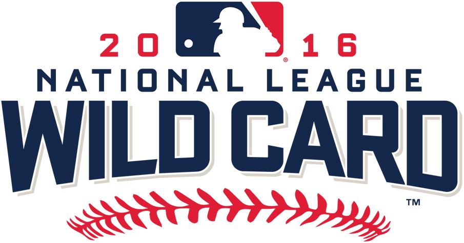 NL Wildcard Game Logo Primary Logo (2016) - 2016 National League Wild Card Game logo - San Francisco Giants shut out New York Mets SportsLogos.Net