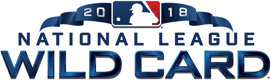 NL Wildcard Game Logo Primary Logo (2018) - 2018 National League Wildcard Game Logo SportsLogos.Net