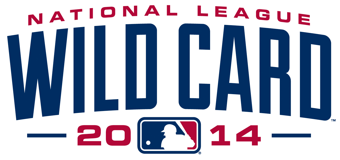 NL Wildcard Game Logo Primary Logo (2014) - 2014 National League Wildcard Game Logo SportsLogos.Net