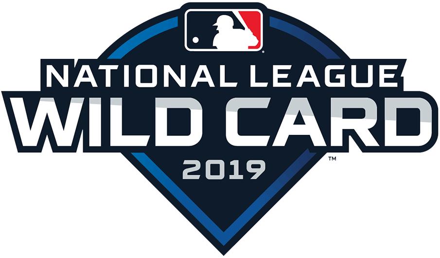 NL Wildcard Game Logo Primary Logo (2019) - 2019 National League Wildcard Game Logo - Washington Nationals vs Milwaukee Brewers SportsLogos.Net