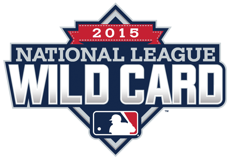 NL Wildcard Game Logo Primary Logo (2015) - 2015 National League Wildcard Game Logo - Pittsburgh Pirates vs Chicago Cubs SportsLogos.Net