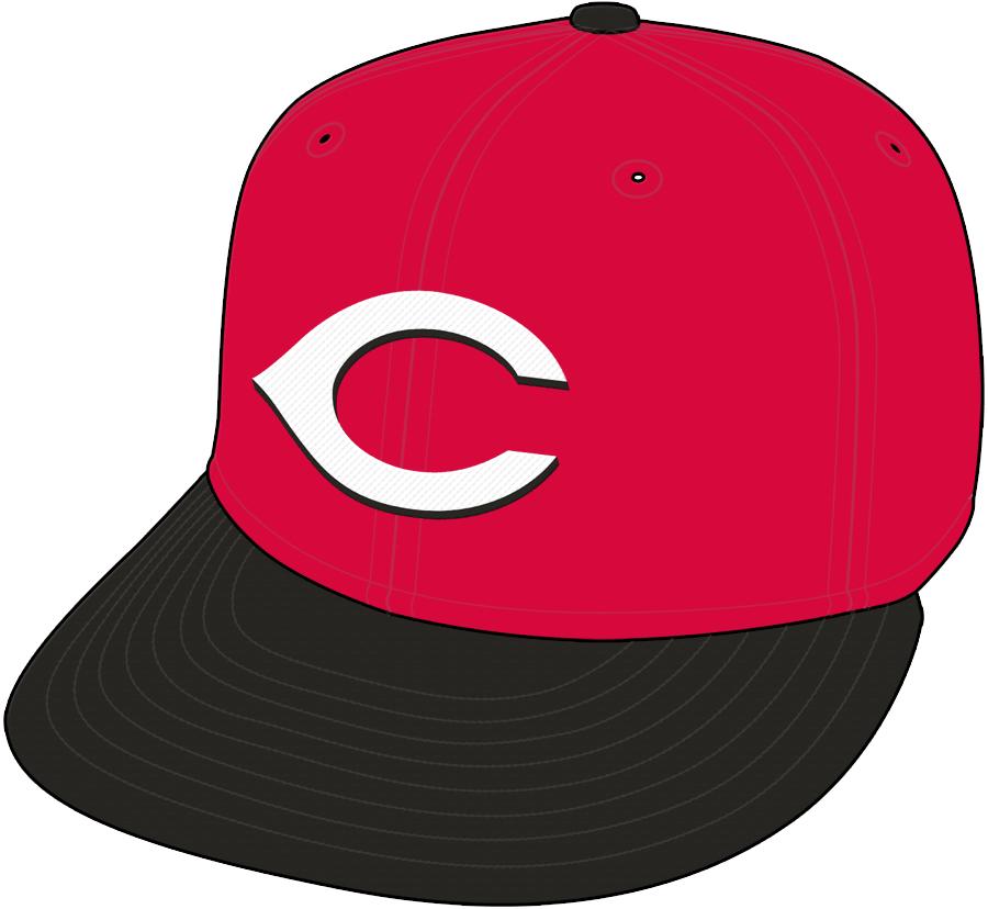 Cincinnati Reds Cap Cap (1999-2012) - Road Cap 1999-2006, Home Cap 2007-12 SportsLogos.Net