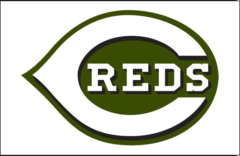 Cincinnati Reds Logo Jersey Logo (2018-Pres) - Alternate Jersey logo, camouflage style jersey SportsLogos.Net