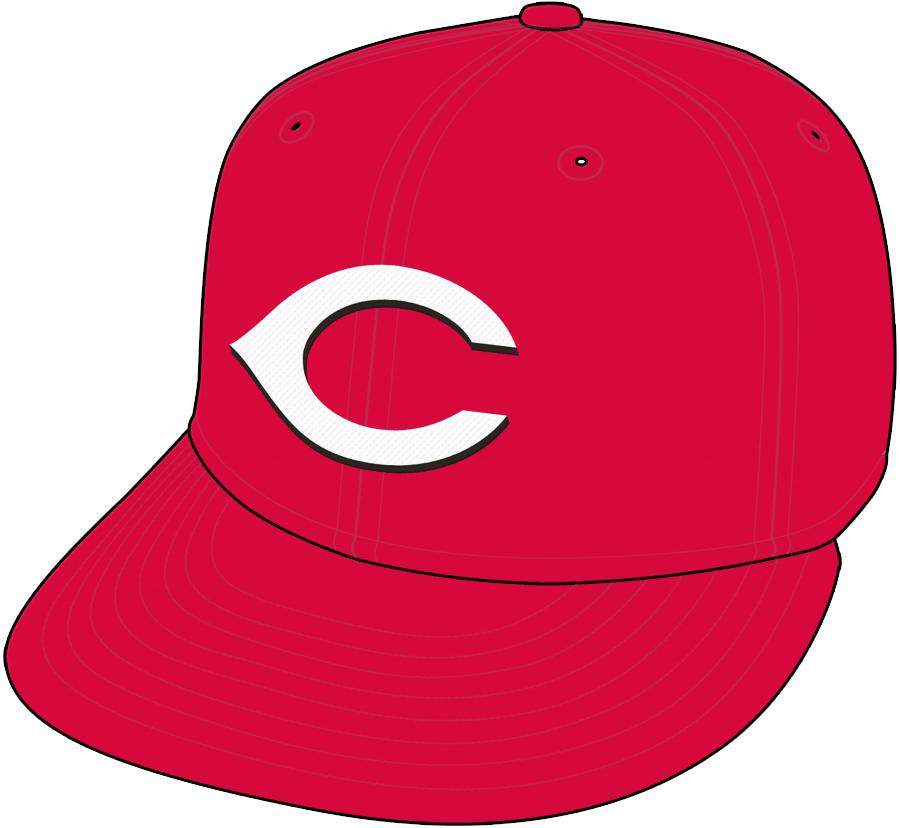 Cincinnati Reds Cap Cap (2007-2012) - Home Cap SportsLogos.Net