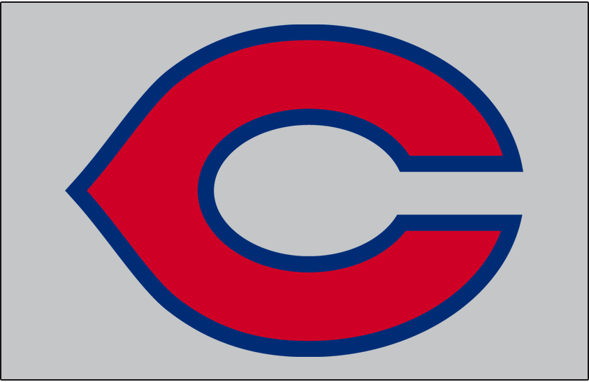 Cincinnati Reds Logo Cap Logo (1935-1936) - Cincinnati Reds road cap logo worn in 1935 and 1936 seasons SportsLogos.Net