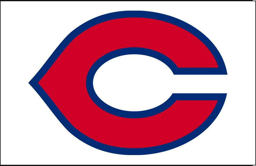Cincinnati Reds Logo Cap Logo (1934-1936) - Cincinnati Reds home cap logo worn from 1934 through 1936 seasons SportsLogos.Net
