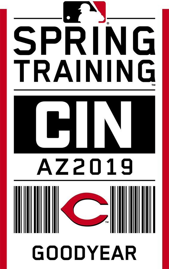 Cincinnati Reds Logo Event Logo (2019) - Cincinnati Reds 2019 Spring Training Logo SportsLogos.Net