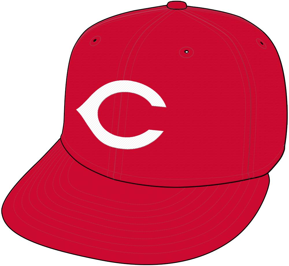 Cincinnati Reds Cap Cap (1967) - Home and Road Cap SportsLogos.Net