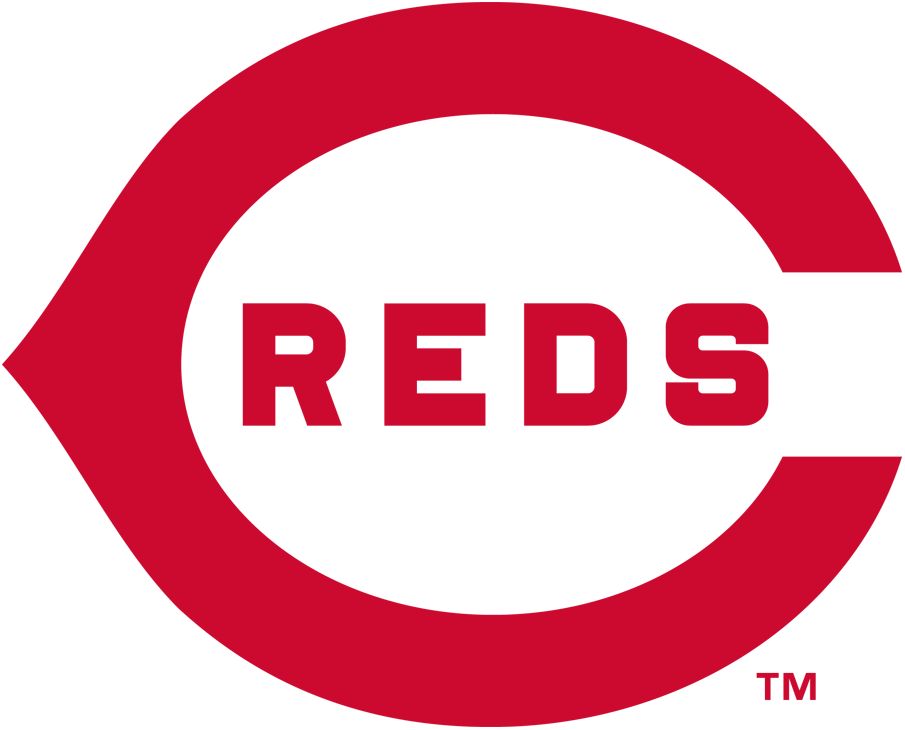 Cincinnati Reds Logo Primary Logo (1914) - A red wishbone 'C' with 'REDS' written inside it in red SportsLogos.Net