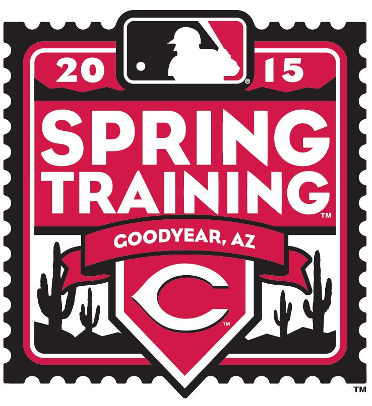 Cincinnati Reds Logo Event Logo (2015) - 2015 Cincinnati Reds Spring Training Logo SportsLogos.Net