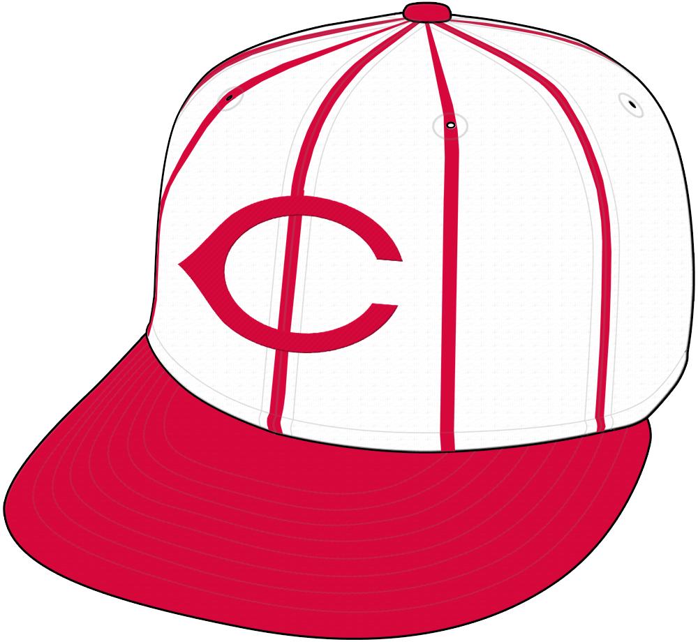 Cincinnati Reds Cap Cap (1993-1998) - Home Cap SportsLogos.Net