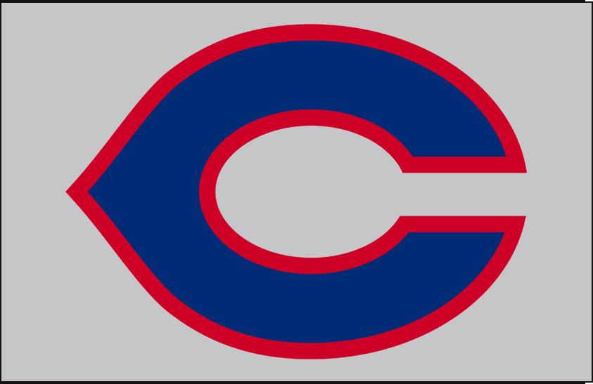 Cincinnati Reds Logo Cap Logo (1934) - Cincinnati Reds road cap logo worn in 1934 season SportsLogos.Net