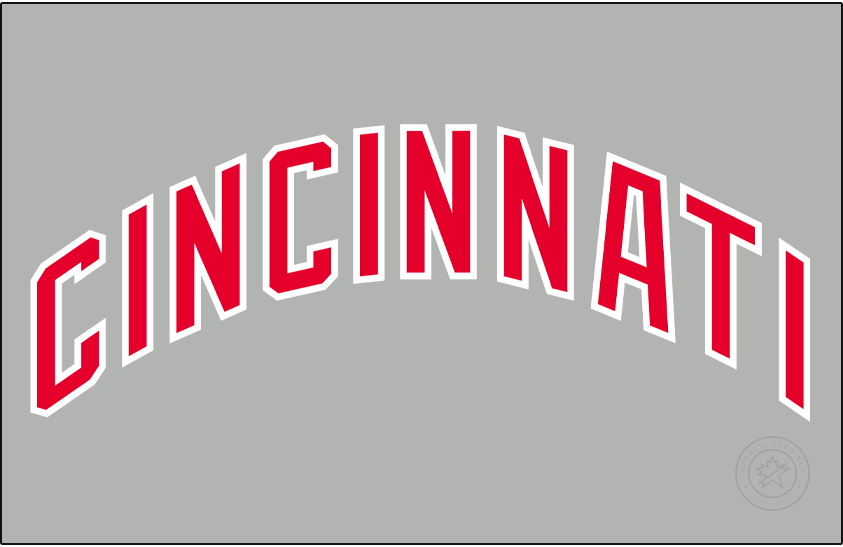 Cincinnati Reds Logo Jersey Logo (1988-1992) - Road SportsLogos.Net