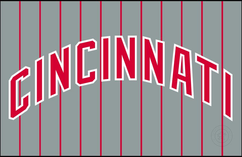 Cincinnati Reds Logo Jersey Logo (1993-1998) - Road SportsLogos.Net