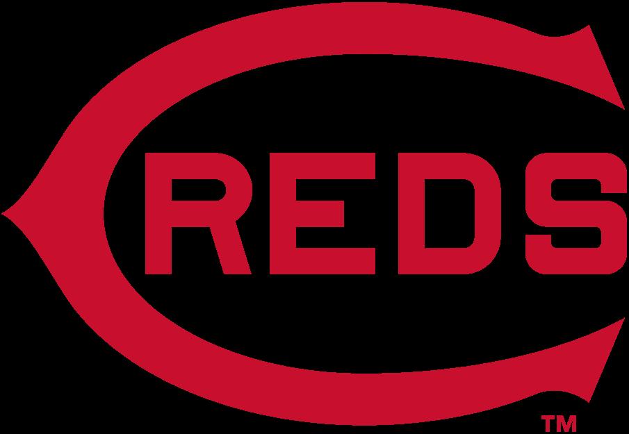Cincinnati Reds Logo Primary Logo (1913) - A red wishbone 'C' with 'REDS' written inside it in red SportsLogos.Net