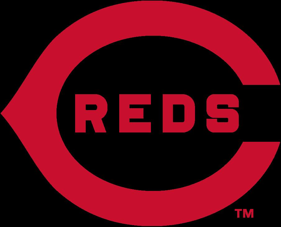 Cincinnati Reds Logo Primary Logo (1914) - A red wishbone 'C' with 'REDS' written inside it in red SportsLogos.Net