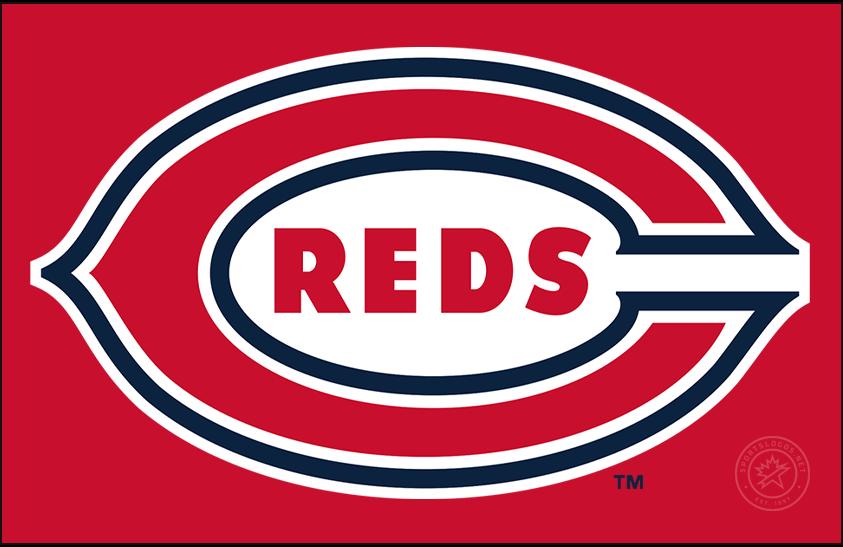 Cincinnati Reds Logo Primary Dark Logo (1938-1952) -  SportsLogos.Net