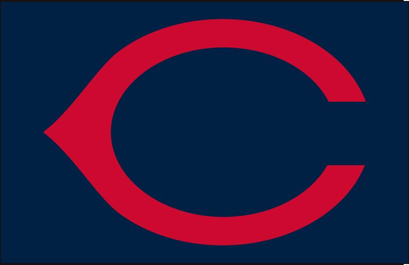 Cincinnati Reds Logo Cap Logo (1937-1952) - Cincinnati Reds cap logo worn both at home and on the road from 1937 through 1952 SportsLogos.Net