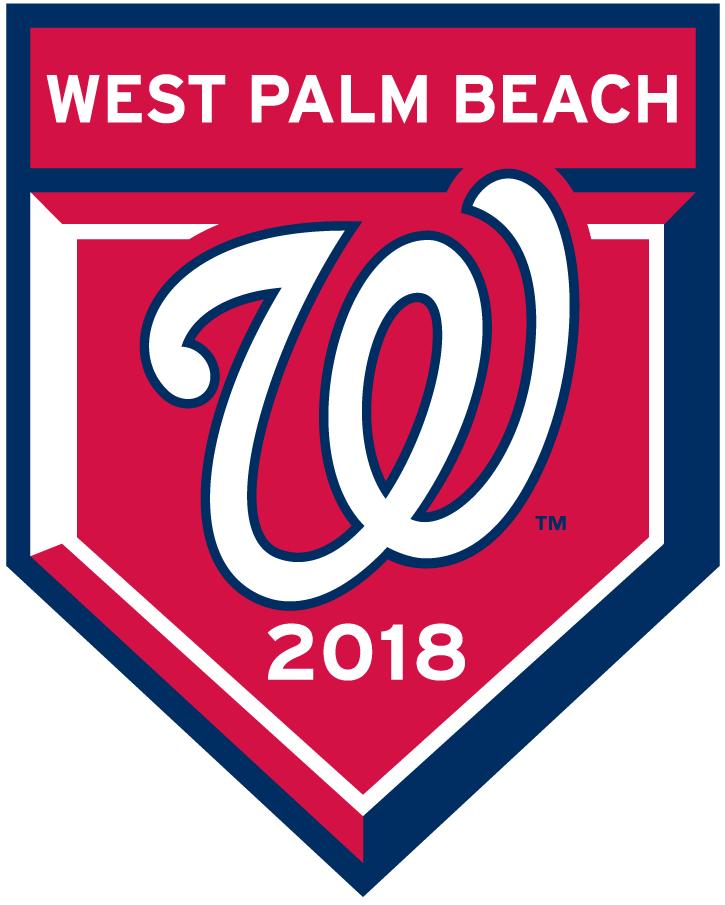 Washington Nationals Logo Event Logo (2018) - Washington Nationals 2018 Spring Training Logo SportsLogos.Net