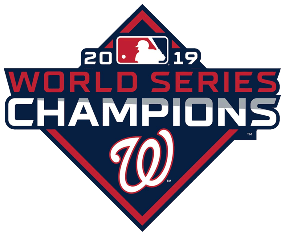 Washington Nationals Logo Champion Logo (2019) - Washington Nationals 2019 World Series Champions Logo SportsLogos.Net