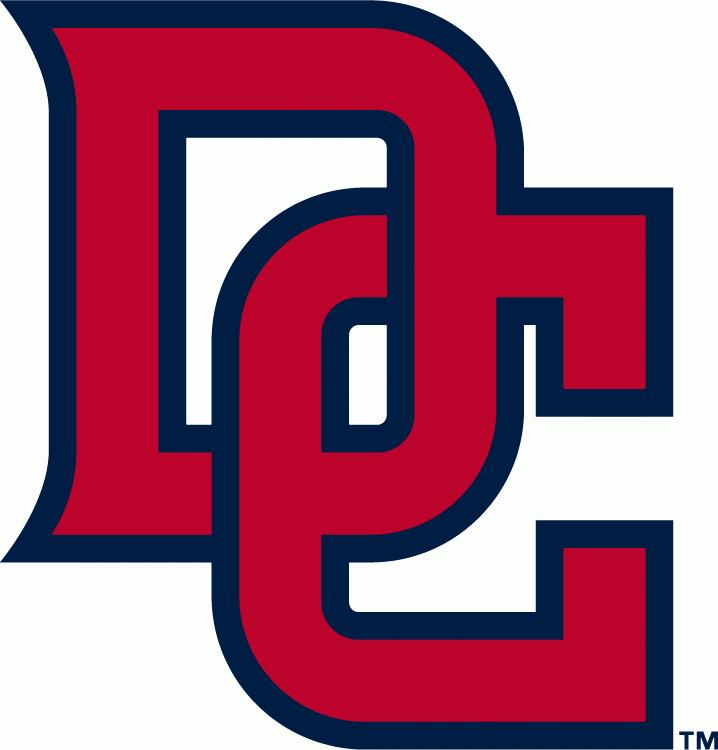 Washington Nationals Logo Alternate Logo (2011-Pres) - Interlocking DC in red with a blue outline SportsLogos.Net