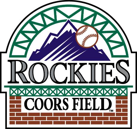 Colorado Rockies Logo Stadium Logo (1995-Pres) - Coors Field logo - home of the Colorado Rockies SportsLogos.Net