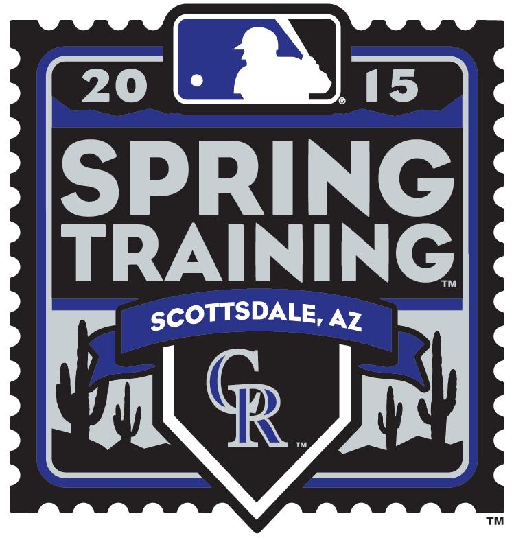 Colorado Rockies Logo Event Logo (2015) - 2015 Colorado Rockies Spring Training Logo SportsLogos.Net