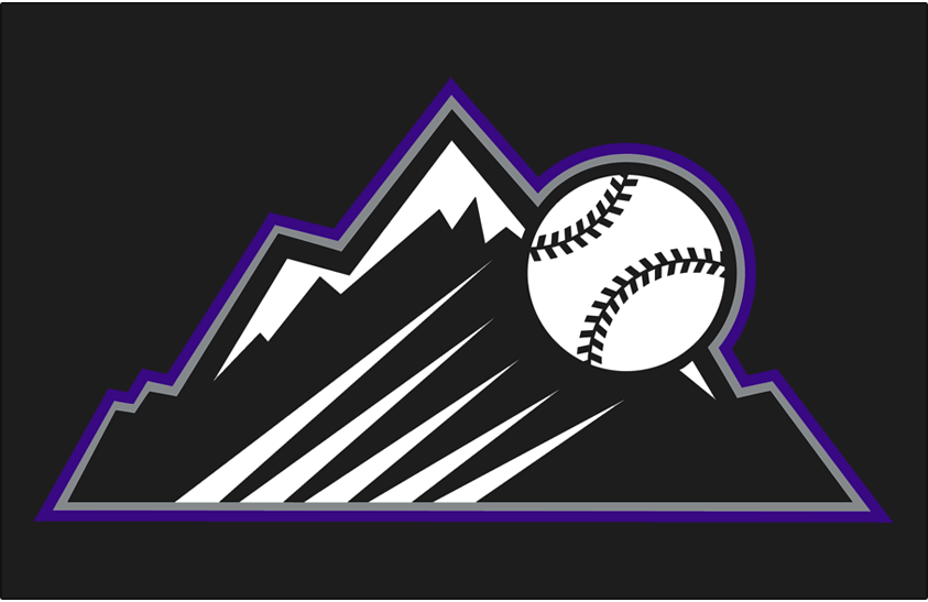 ef2935443 Colorado Rockies Batting Practice Logo - National League (NL ...