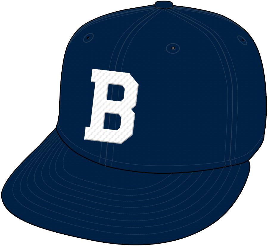 Boston Braves Cap Cap (1942-1945) - Road Only 1942 SportsLogos.Net