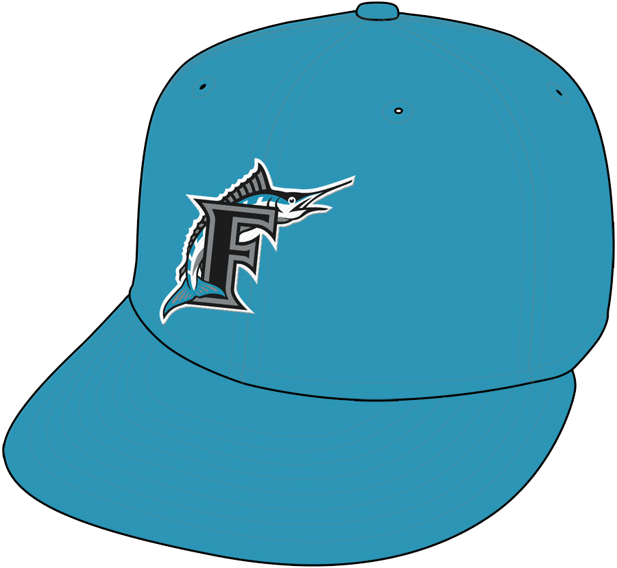 Florida Marlins Cap Cap (1993-1994) - Home Cap SportsLogos.Net