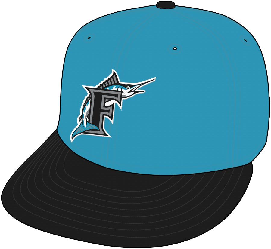 Florida Marlins Cap Cap (1993-1996) - Road Cap SportsLogos.Net