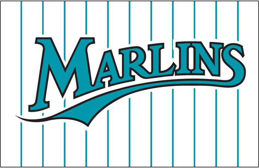 half off f77cb 16242 Florida Marlins Jersey Logo - National League (NL) - Chris ...