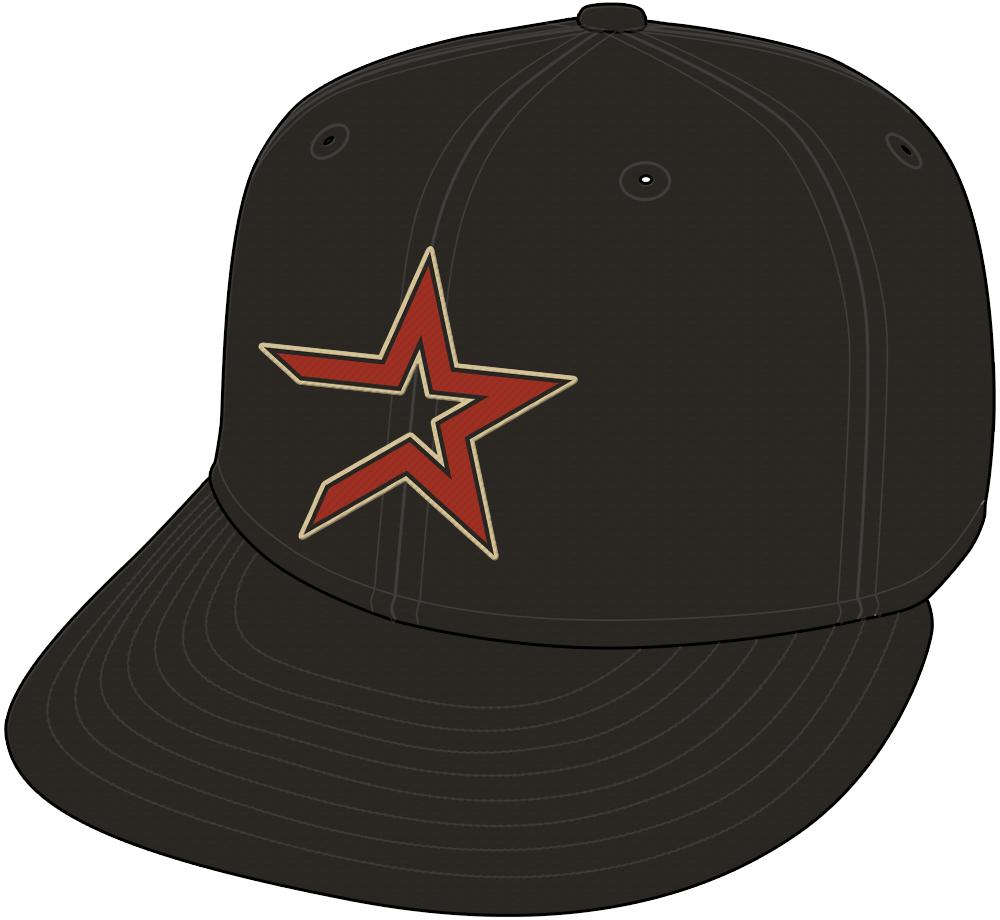 Houston Astros Cap Cap (2000-2012) - Home and Road Cap (2000-12). SportsLogos.Net