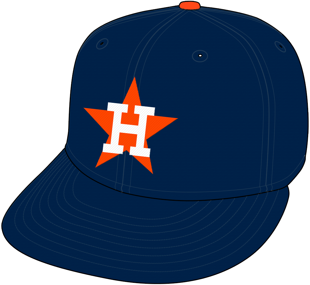 Houston Astros Cap Cap (1965-1970) - Home and Road Cap (1965-70). SportsLogos.Net