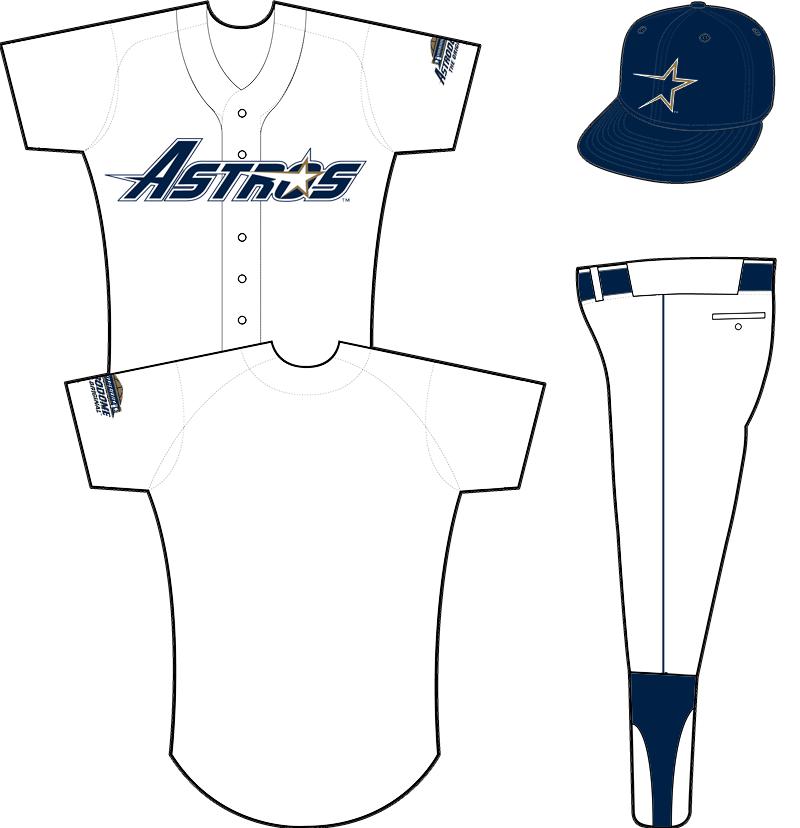 Houston Astros Uniform Home Uniform (1994) -  SportsLogos.Net