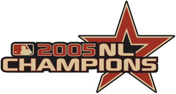 Houston Astros Logo Champion Logo (2005) - 2005 National League Champions SportsLogos.Net