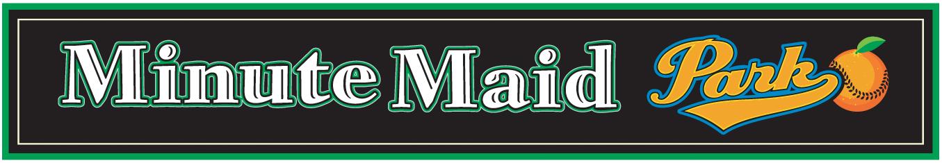 Houston Astros Logo Stadium Logo (2003-Pres) - Minute Maid Park Logo SportsLogos.Net